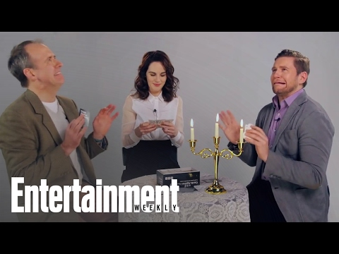 Downton Abbey: Michelle Dockery & More Play Cards Against Humanity  Entertainment Weekly