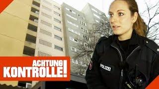 Mit Blaulicht zum Wohnblock! Polizei wird wegen lautem Streit gerufen! | Achtung Kontrolle