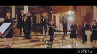 Lux Aurumque by Eric Whitacre performed by Ensemble Altera