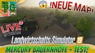 Mercury Bauernhöfe 🚜 - STÜRZT Sie ab?😱│LS19 LIVE🔴 [GER][HD]│Landwirtschafts Simulator 19 - FS19