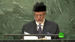 كلمة وزير خارجية سلطنة عمان أمال الجمعية العامة