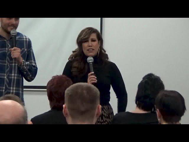 Konferencja z Melissą Swindle - dzień 3.