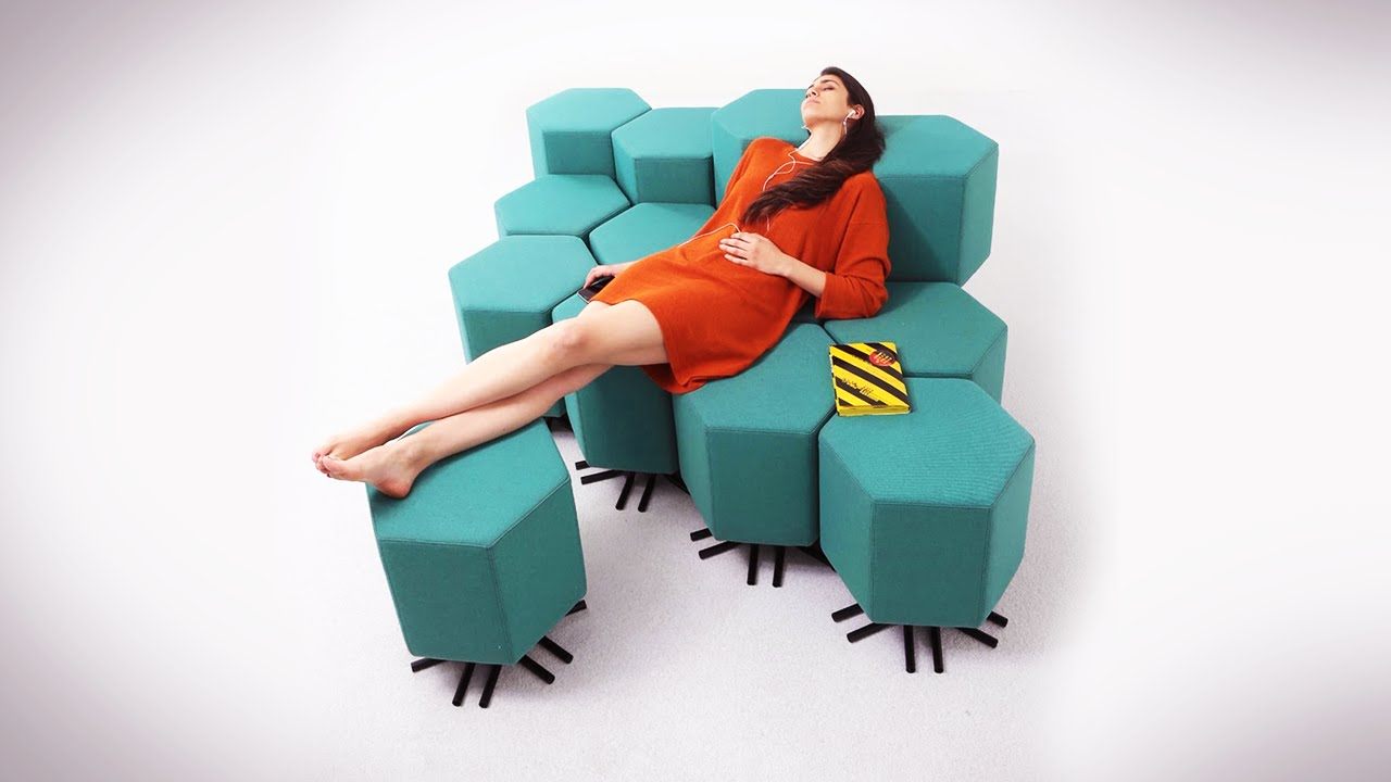 The Future Of Your Living Room: Shape Shifting Furniture