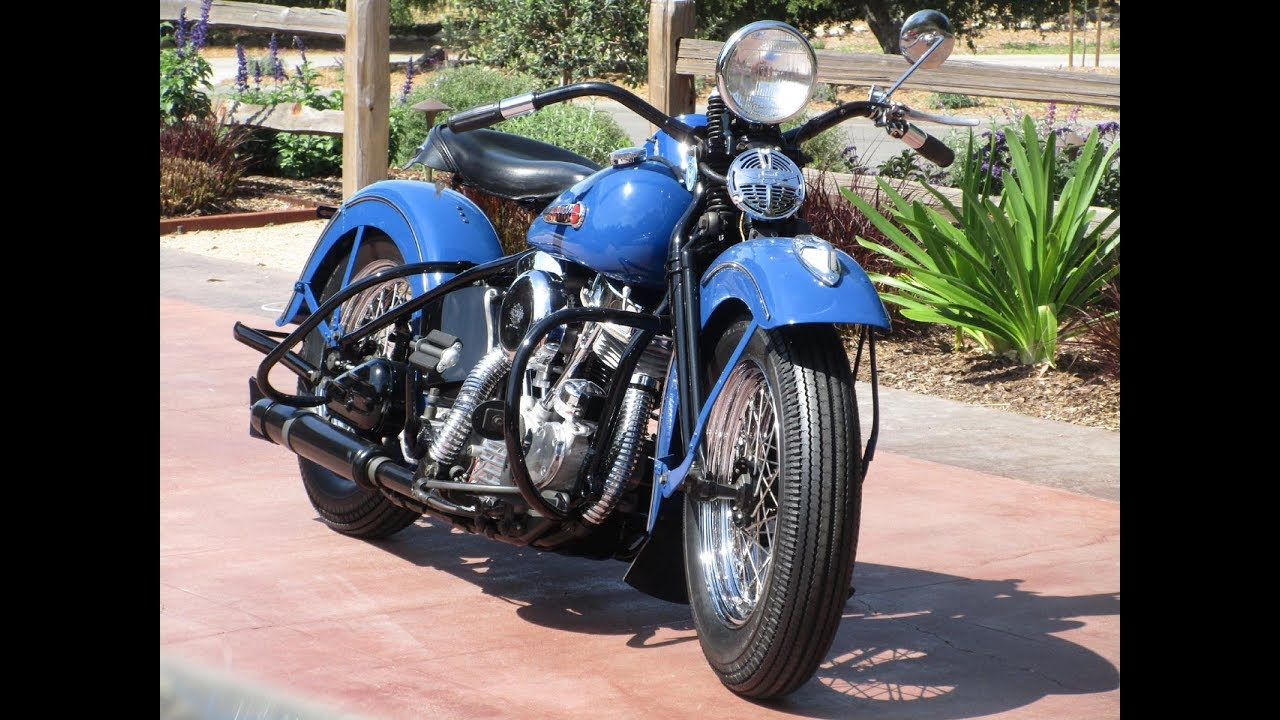 small resolution of 1948 harley davidson pan head restoration by bator international