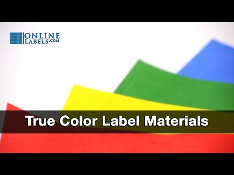 All True Color Labels Fanned Out