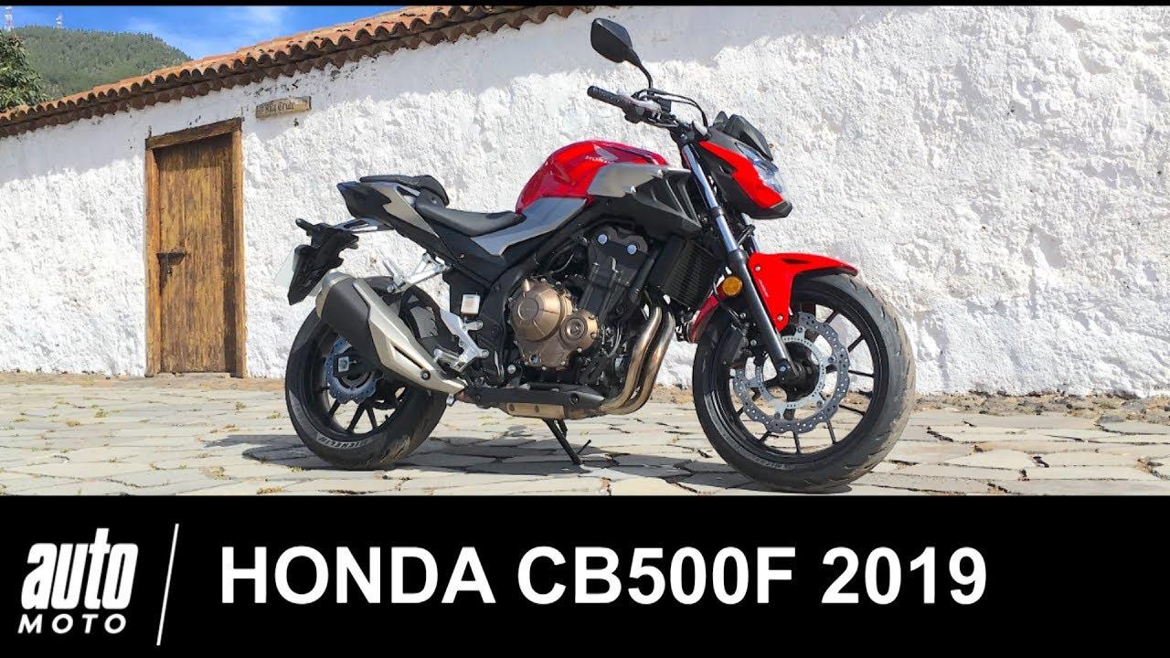 2019 Honda Cb500f Le Roadster école Essai Auto Motocom Youtube