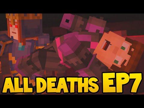 Minecraft Story Mode - ALL DEATH SCENES! - Episode 7