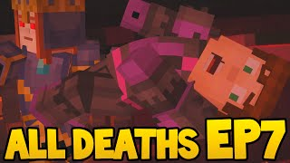 Minecraft Story Mode - ALL DEATH SCENES - Episode 7