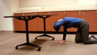 if you re near a sturdy desk or table earthquake safety video series
