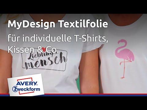 neueste art am besten kaufen anerkannte Marken Anleitung T-Shirt-Druck für Bügelfolie   Avery Zweckform
