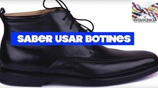 La forma correcta de usar botines