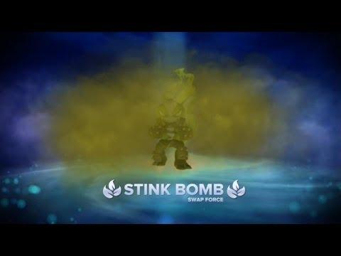 SKYLANDERS SWAP FORCE STINK BOMB BEST PATH