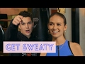 Austin Mahone Talks Sliding Into The DMs On Get Sweaty With Emily Oberg