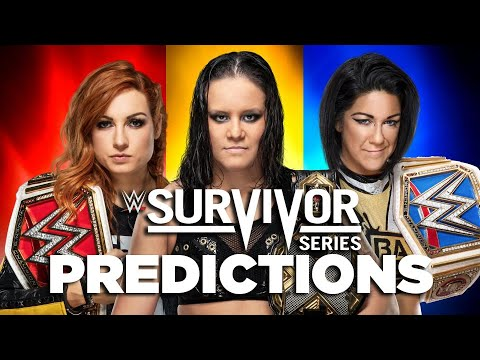 Final Picks and Predictions for Every Match on the WWE Survivor ...