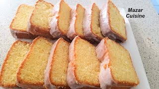 Pound Cake Recipe,Easy,Simple.Best Pound Cake loaf Vanilla Cake Afghan Cooking  Eid recipes کیک ساده