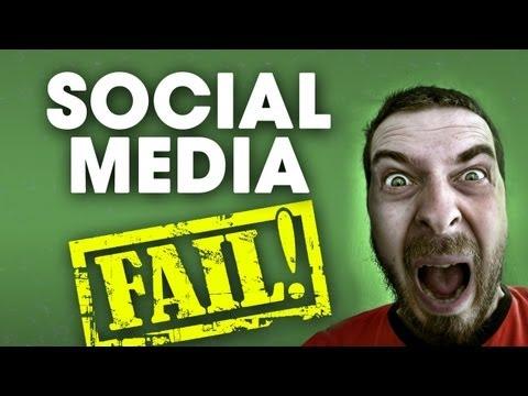 Biggest Social Media Mistakes | Social Media FAIL