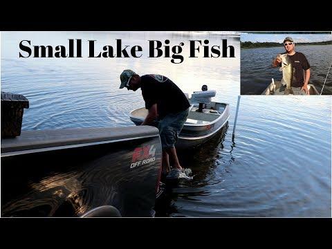 Small Lake, Small Boat, Big Fish (Middle Lake)