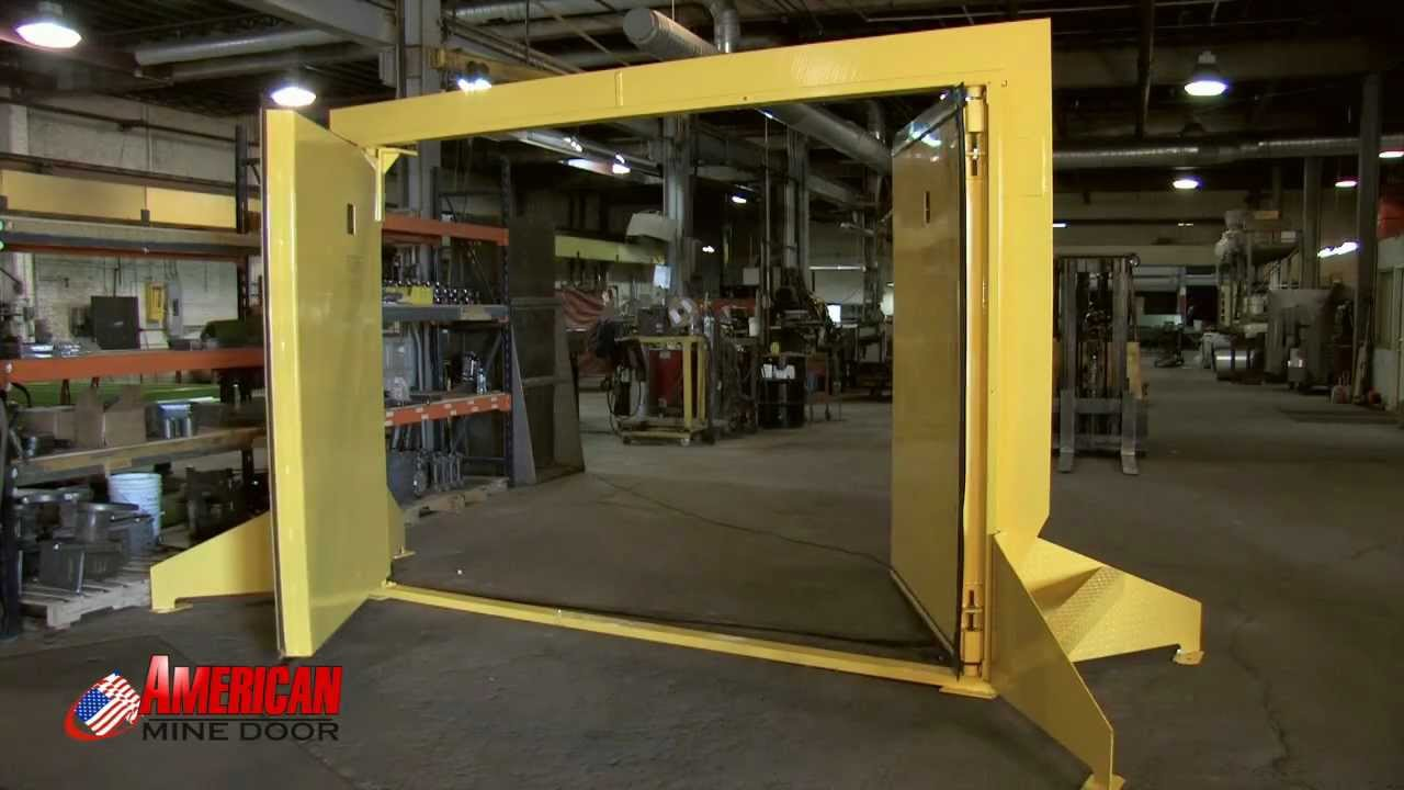 & American Mine Door Company Video - YouTube Pezcame.Com
