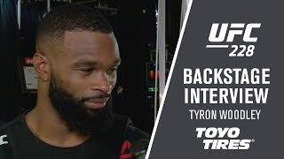 "UFC 228: Tyron Woodley - ""I'm Just Happy to Be Back"""