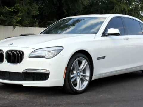 2012 bmw 740li white black m sport package loaded wow. Black Bedroom Furniture Sets. Home Design Ideas