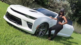 NEW CAR VLOG   I BOUGHT A CHEVY CAMARO RS!!!   SHAUNF