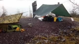 Strathyre forest camp.