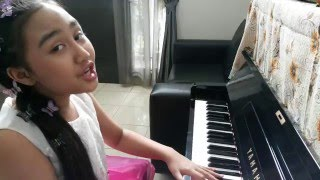 Melly Goeslaw - Kupu Kupu cover by Ayesha Wibowo (10th)