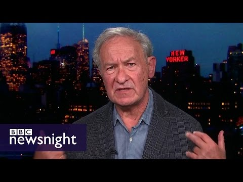 'It's not a moment for calm': Simon Schama on Trump's victory - BBC Newsnight