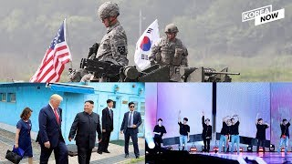 N.Korea warns over S. Korea-U.S. military drills / BTS sells 13 million albums 2019 first half