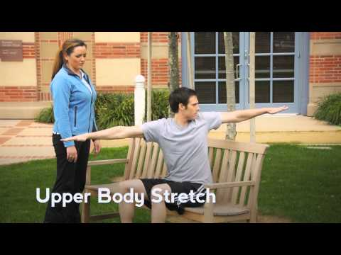 Basic Chair Stretches | UCLA Rehabilitation Services