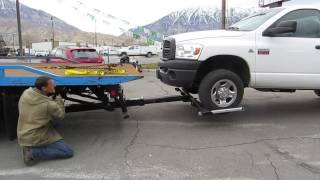 Rollback Tow Truck 2000 International 4700 21' Jerr-Dan Wrecker Wheel Lift LOW MILES! $27,800