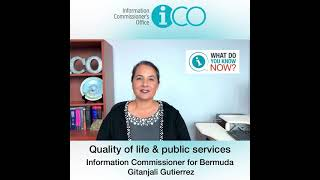 """""""What Do You Know Now?"""" Quality of life & public services"""