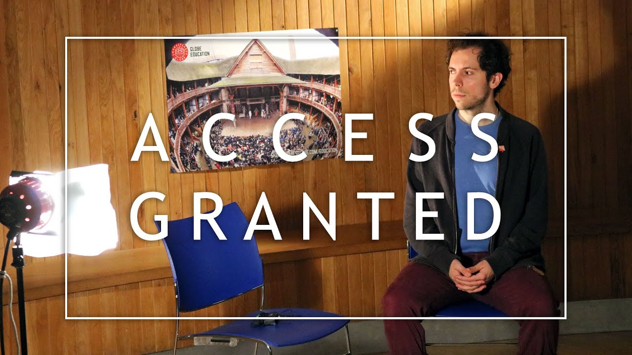 Access Granted : A documentary pilot about audio description in theatre