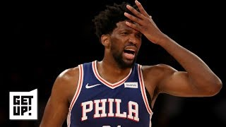Joel Embiid's outspokenness is a gift and a curse for the 76ers – Jay Williams | Get Up!