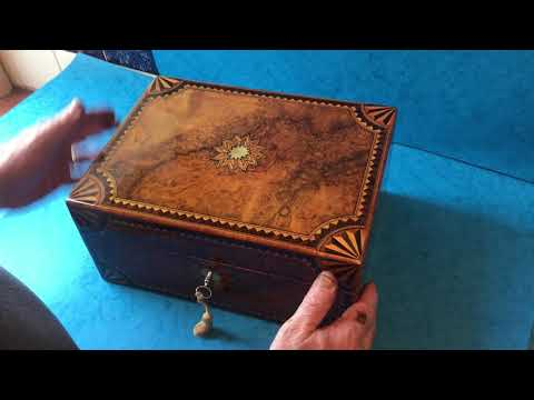Antique Victorian Jewellery Box For Sale Online