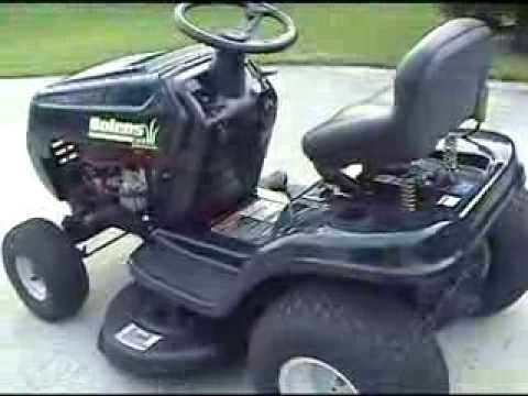 Mtd Yard Machine Wiring Diagram Bolens Lawn Tractor Youtube