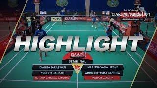 Marissa Vania L/Winny Oktavina K (Tangkas Jakarta) VS Dianita S/Yulfira B (Mutiara Cardinal Bandung)