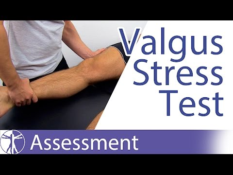 Valgus Stress Test of the Knee⎟Medial Collateral Ligament