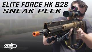 Elite Force HK G28 DMR SNEAK PEEK - Airsoft GI