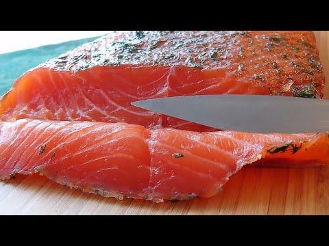 Жалею что не готовила Сёмгу так раньше! Рецепт из красной рыбы + как быстро засолить Сёмгу...