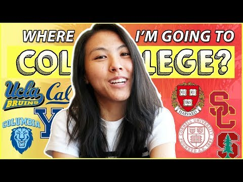 🎉COLLEGE DECISION REVEAL 2018! Where I'm Going to College!? | Katie Tracy