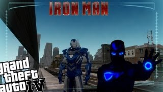 GTA IV LCPDFR Iron Man Mod Police Patrol - Episode 12 - Iron Man in The Blue Armor