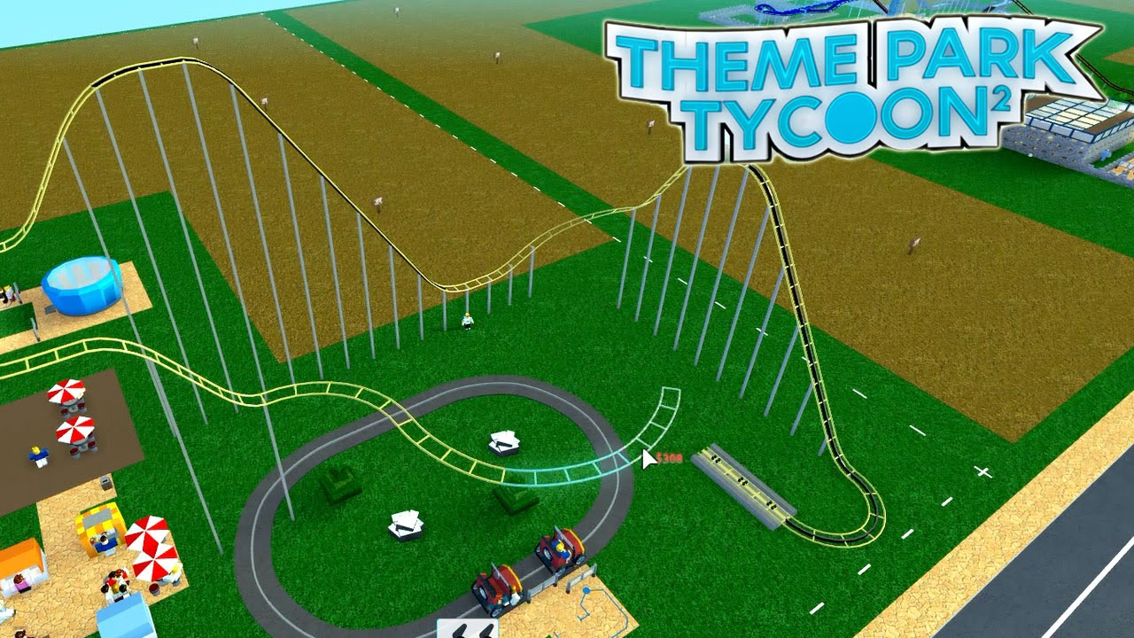 Roblox / Theme Park Tycoon 2 / More Rides! / Gamer Chad Plays ...