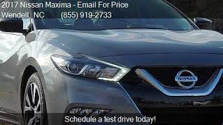 2017 Nissan Maxima  for sale in Wendell, NC 27591 at Auto Di