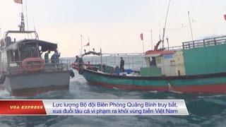 Việt Nam 'xua đuổi' tàu cá Trung Quốc