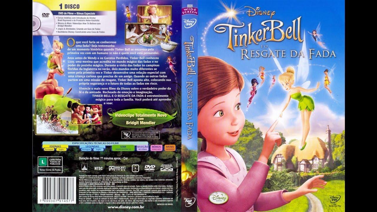 Tinker Bell E O Resgate Da Fada Dublado Youtube