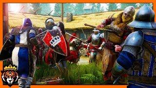 FIGHTING OFF HORDES OF ENEMIES! (Mordhau Horde Mode)