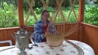МАСТЕР-КЛАСС или ТВОРЧЕСКИЙ УРОК. Плетение грибной корзины.