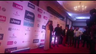 Kajol and Ajay Devgn at the HT Most Stylish Awards 2017 | SpotboyE