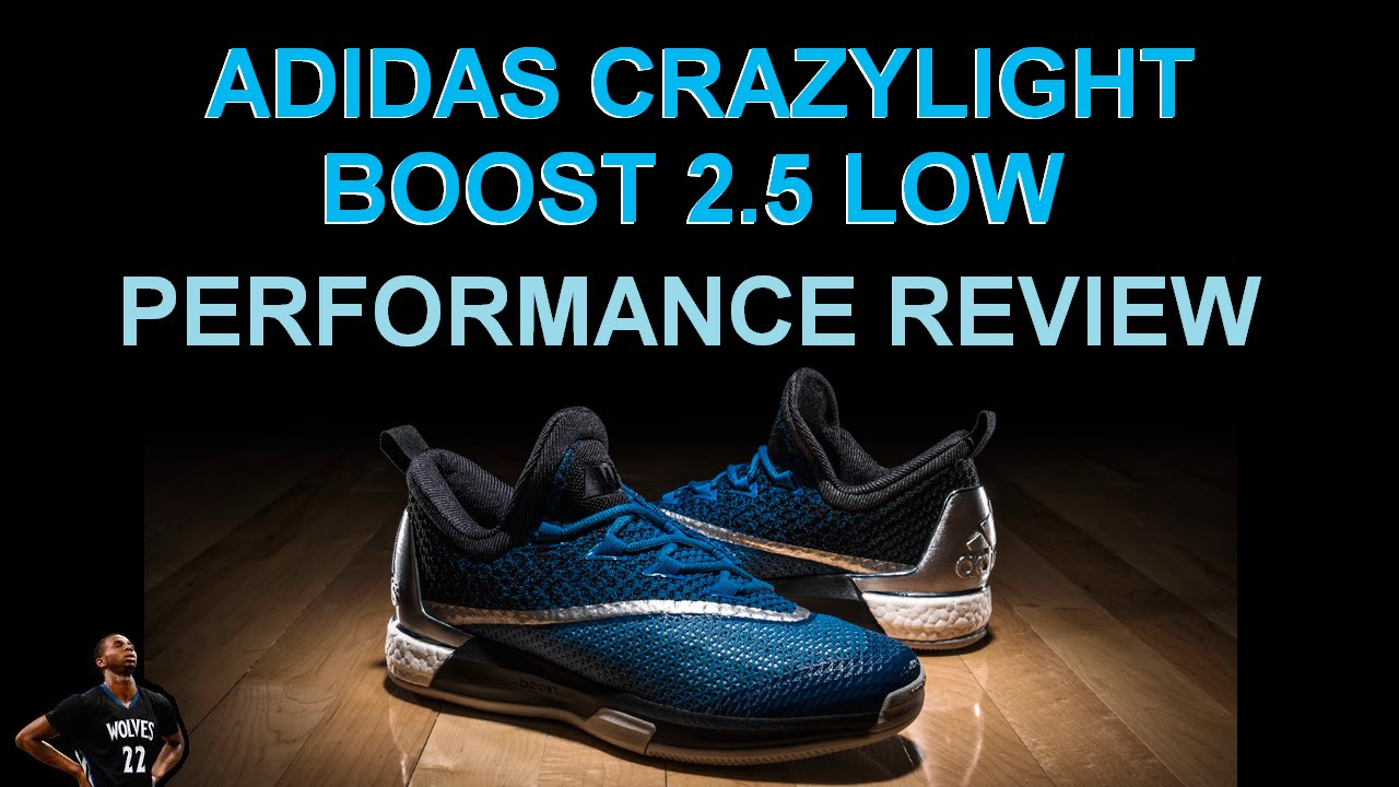 84c13d15626c ADIDAS CRAZYLIGHT BOOST 2.5 LOW Performance Review - YouTube